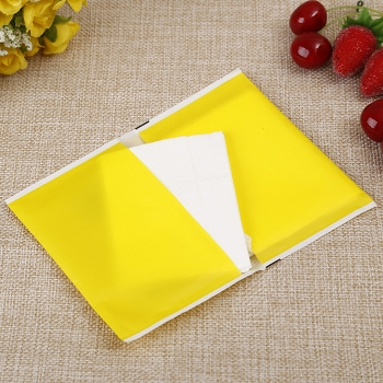 Wallet style promotional napkin