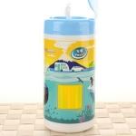 車用塑料瓶裝濕紙巾