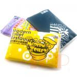 Wallet style promotional napkin