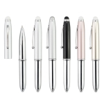 3 in 1 Metal Pen-Silver
