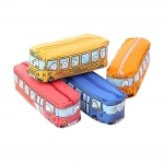 Bus shape pencil bag