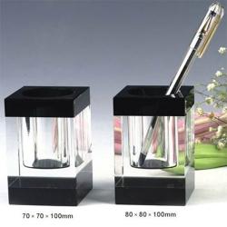 K9長方形水晶筆筒