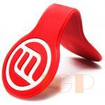 PVC Soft Rubber Magnetic Bookmark