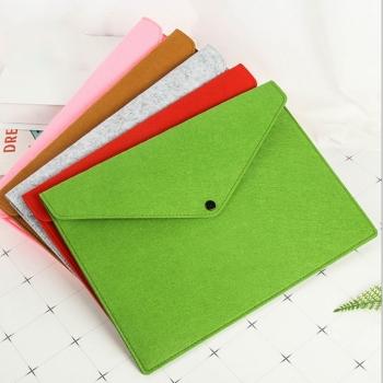 Felted Wool Folder