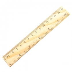Wooden Ruler