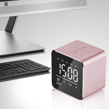 Bluetooth speaker with alarm clock