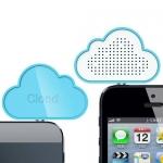 雲形手機揚聲器