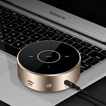Wireless Card-plug Touch Control Bluetooth Speaker