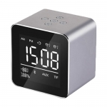 Bluetooth speaker with alarm clock