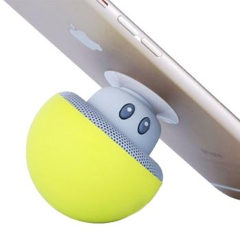 Mushroom suction-cup Bluetooth speaker