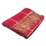 仿羊絨英倫風格子圍巾