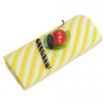 條紋蛋糕毛巾