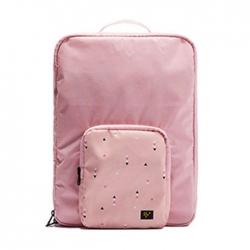 Multi-function folding travel backpack