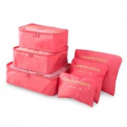 旅行防水整理六件套收納袋