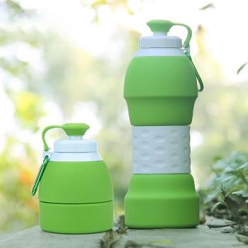 可摺疊矽膠旅行水壺