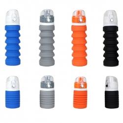 可折疊硅膠運動水樽