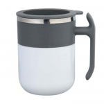 Magnetic temperature difference self-stirring cup