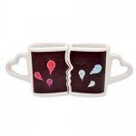 Heart-shaped Magic Mug