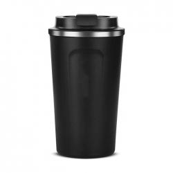 帶蓋不鏽鋼咖啡保溫杯