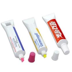 牙膏螢光筆