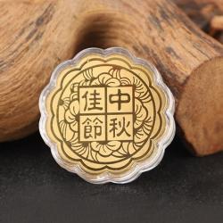 黃金月餅金箔擺飾