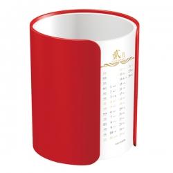 圓柱狀筆筒日曆