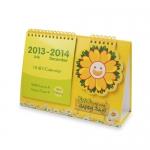 18個月座檯月曆