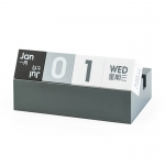 Create art square desk calendar