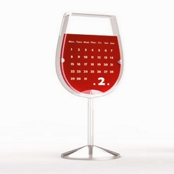 Wine Glass Calendar