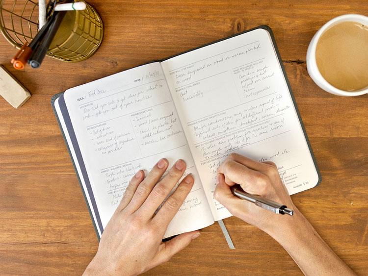 孵化創意筆記本