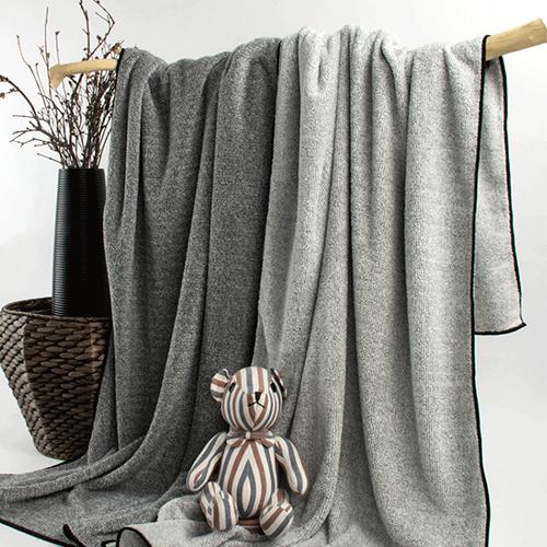 無燃紗毛巾